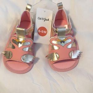 Cute flamingo sandals